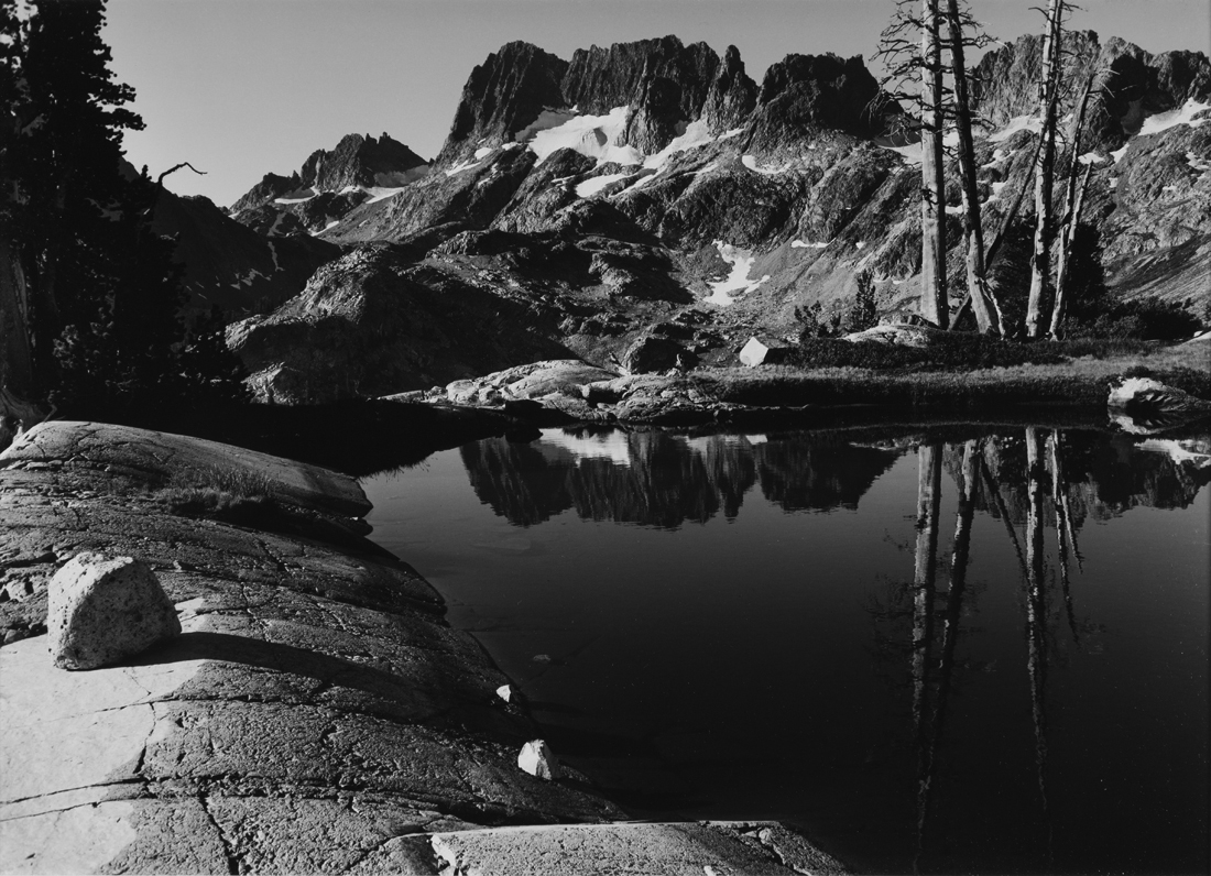 Minarets from Tarn above Lake Ediza, Ansel Adams Wilderness, California  1950  Philip Hyde (1921–2006)