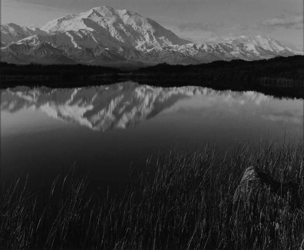Mt. Denali (Mt. McKinley), Reflection Pond, Denali National Park, Alaska  1971 Philip Hyde (1921–2006)