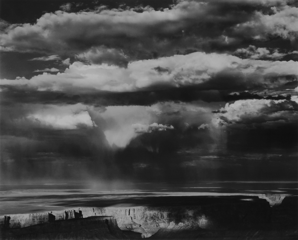 Thunderstorm Over Navajo Country, Grand Canyon National Park, Arizona  1963 Philip Hyde (1921–2006)