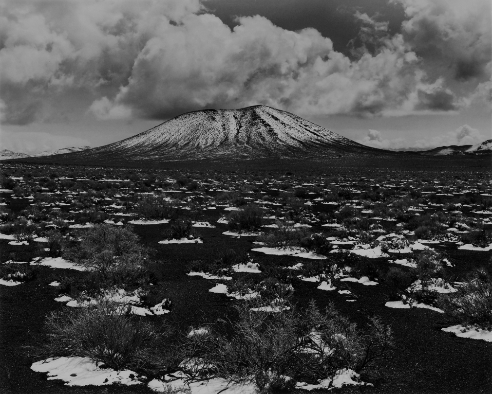 Snow on Ciders, Cinder Cone, Nevada  1962 Philip Hyde (1921–2006)