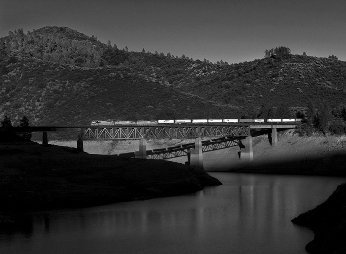 High Priority Northbound, Sacramento River Canyon, California  2009