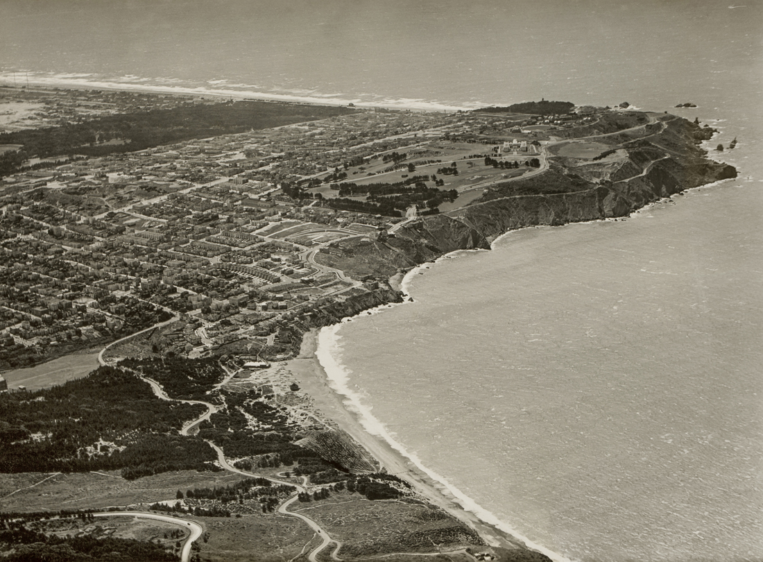 Baker Beach and Land's End, San Francisco  September 9, 1919