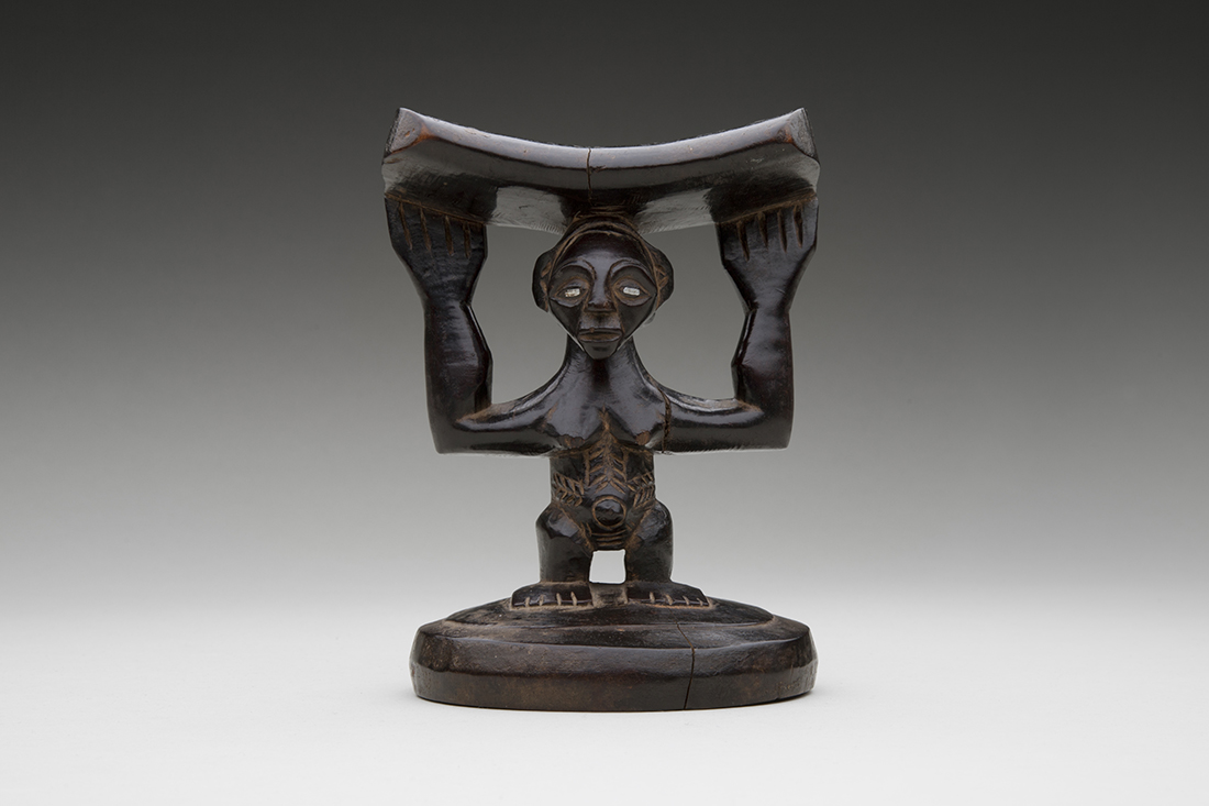 Headrest  late 19th–early 20th century