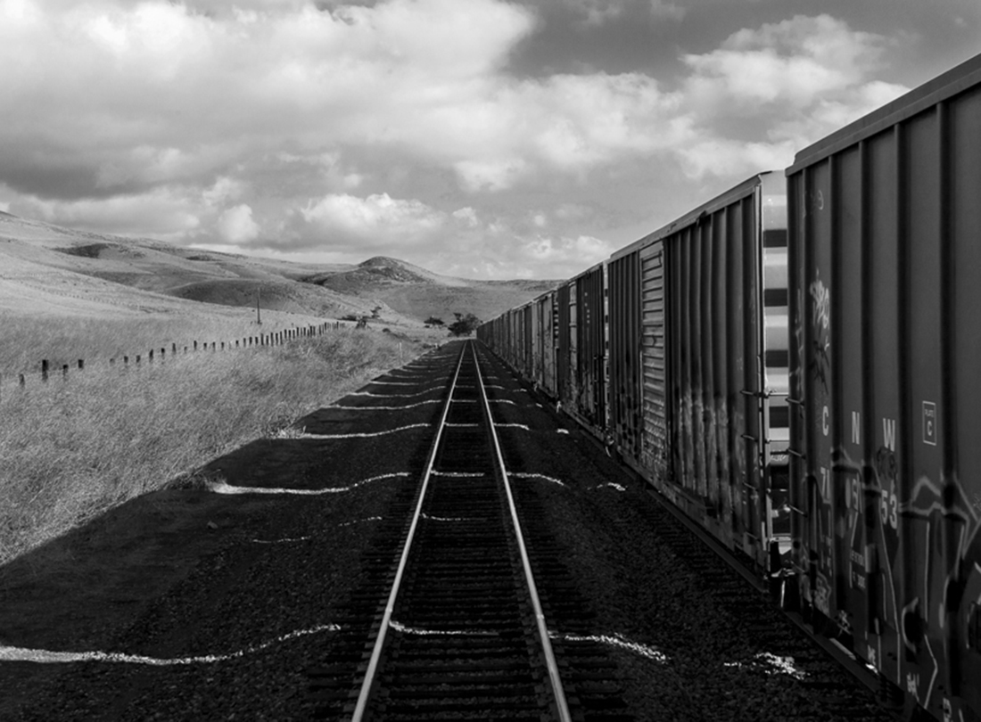 Stored Boxcars Near Paso Robles, California  2011