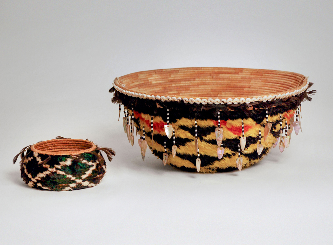 Basket  1900 and Basket  early 20th century