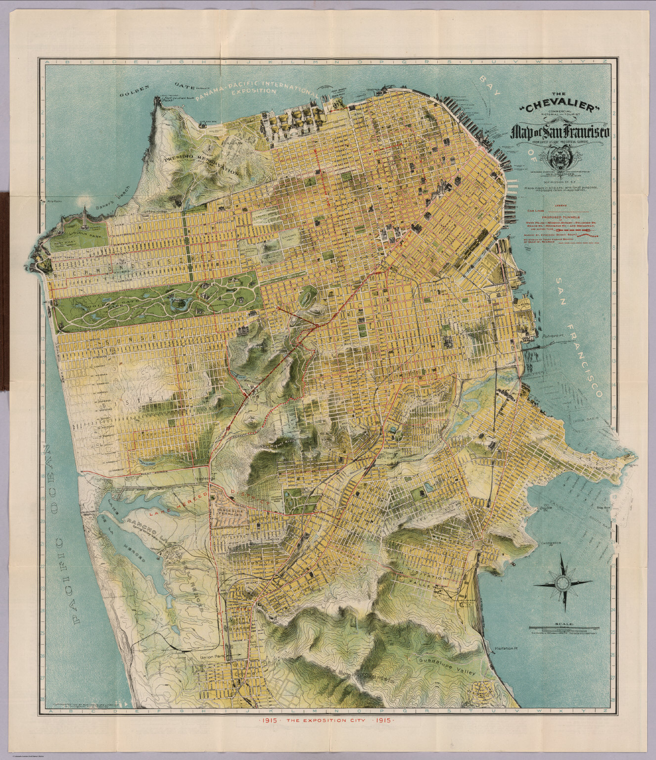 San Francisco From The David Rumsey Map Collection Sfo Museum