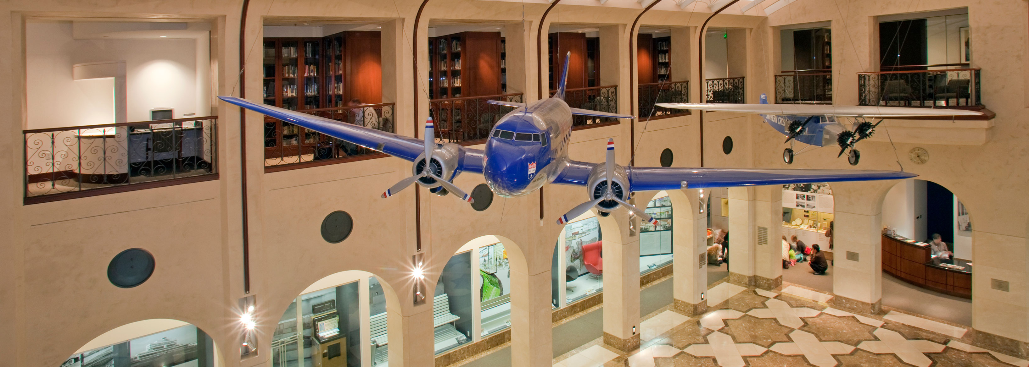 Aviation Museum Library