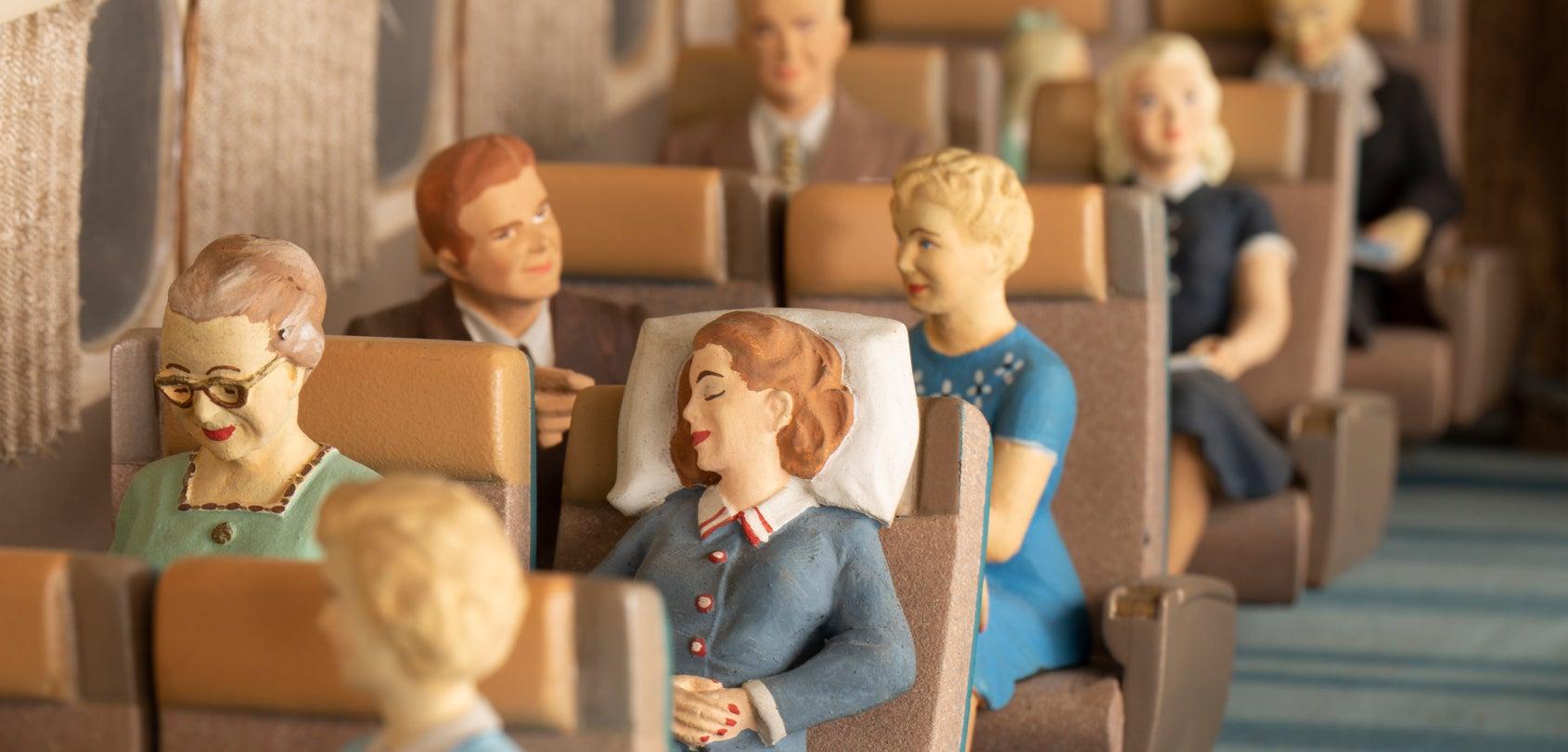 The Illusion of Flight: The United Air Lines Douglas DC-8 Cutaway Model Interior
