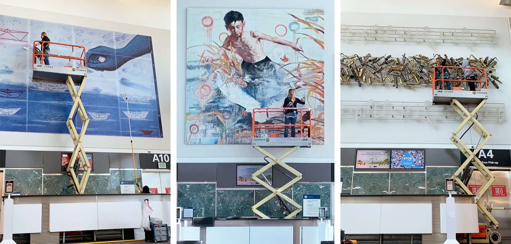 Raising the Bar: Care of the Public Art Collection at SFO