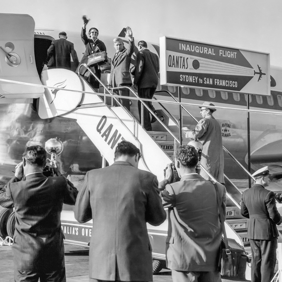 Upcoming Exhibition Australian Airliners Across the Pacific