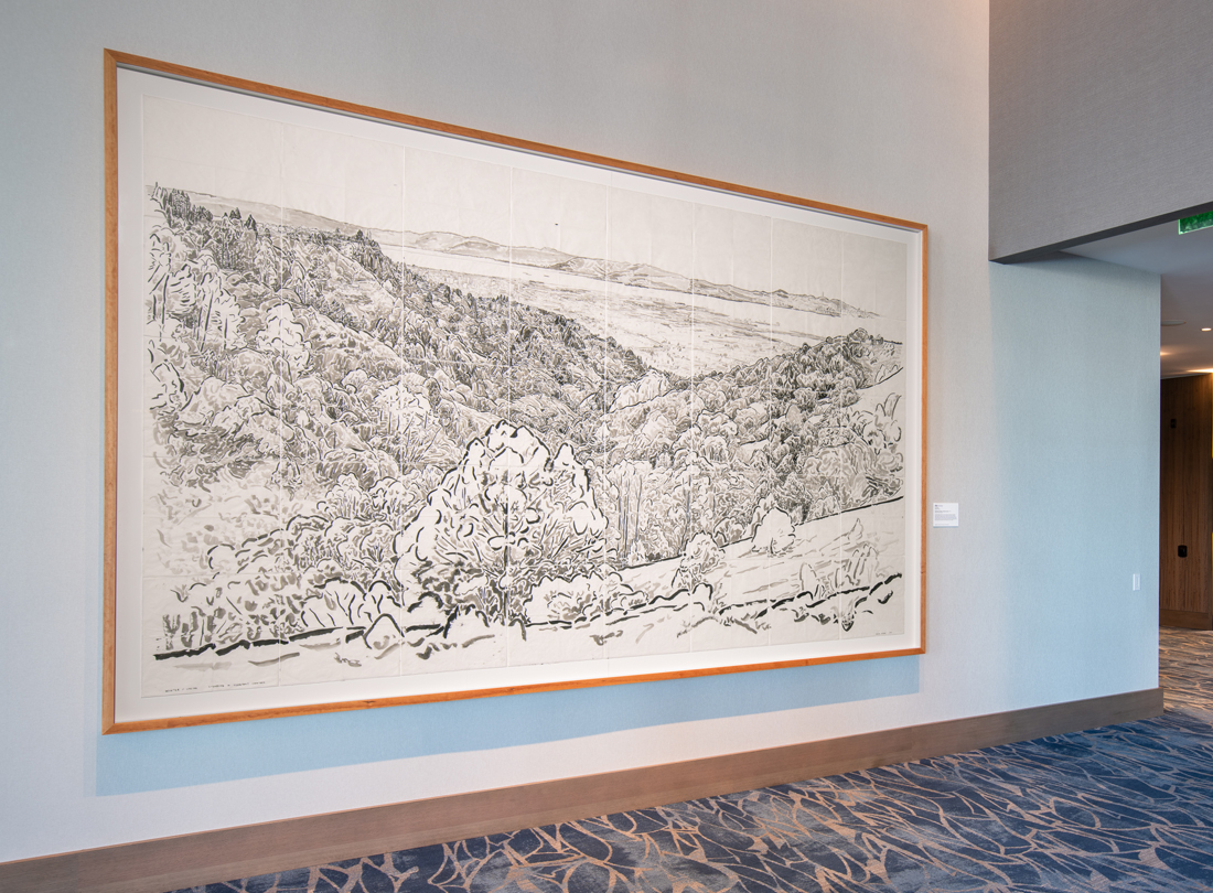 Winter/Spring, Standing in Claremont Canyon, by David Wilson