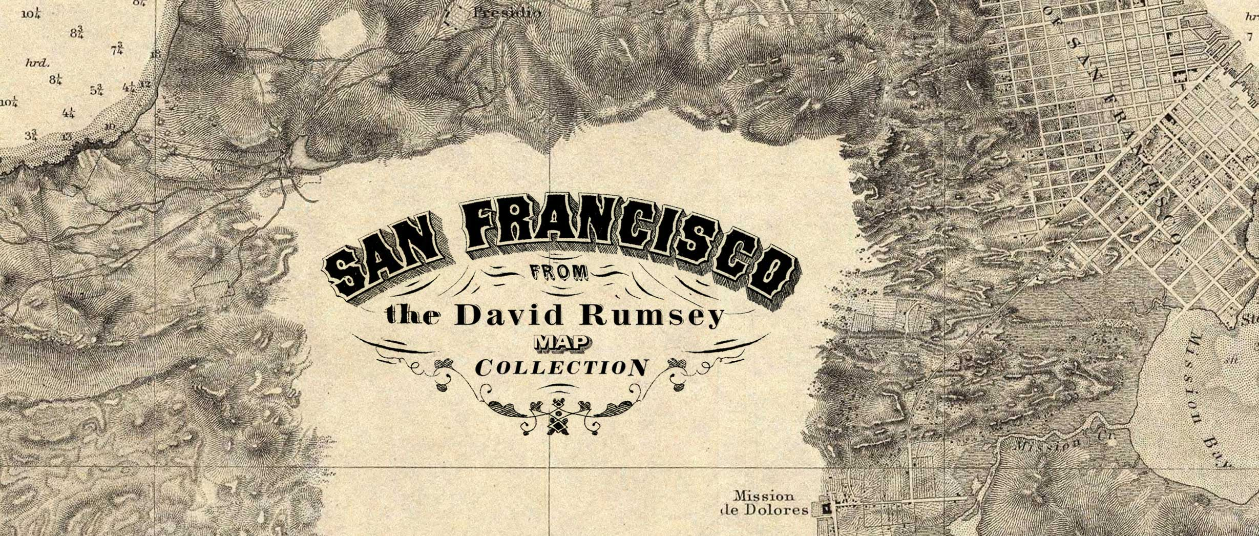 San Francisco: From the David Rumsey Map Collection
