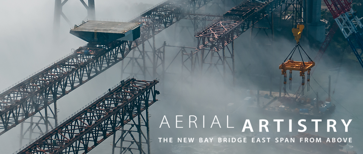 Aerial Artistry:  The New Bay Bridge East Span From Above