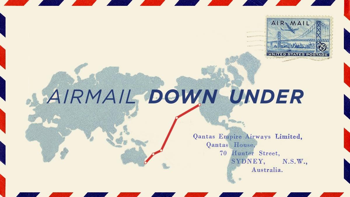 Airmail Down Under
