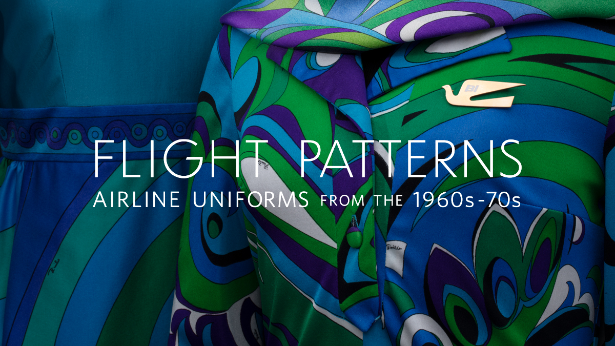 Flight Patterns—Airline Uniforms from the 1960s–70s