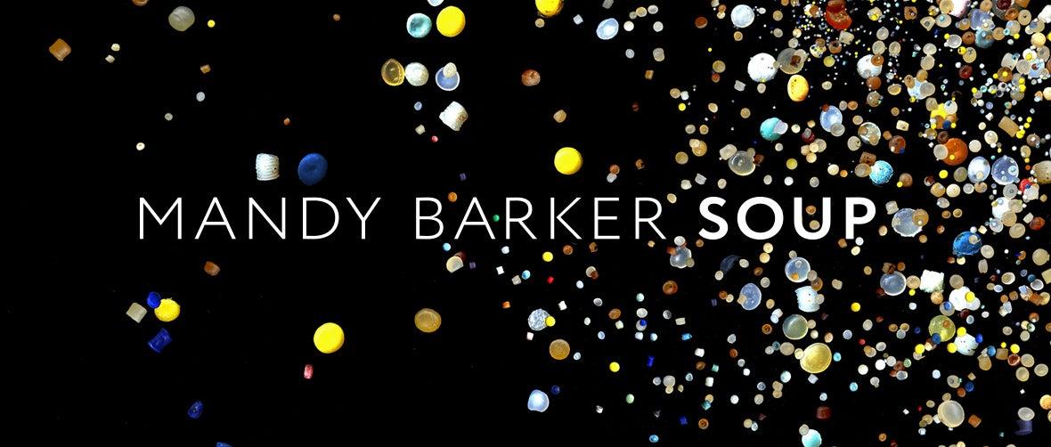 Mandy Barker: Soup, Nurdles