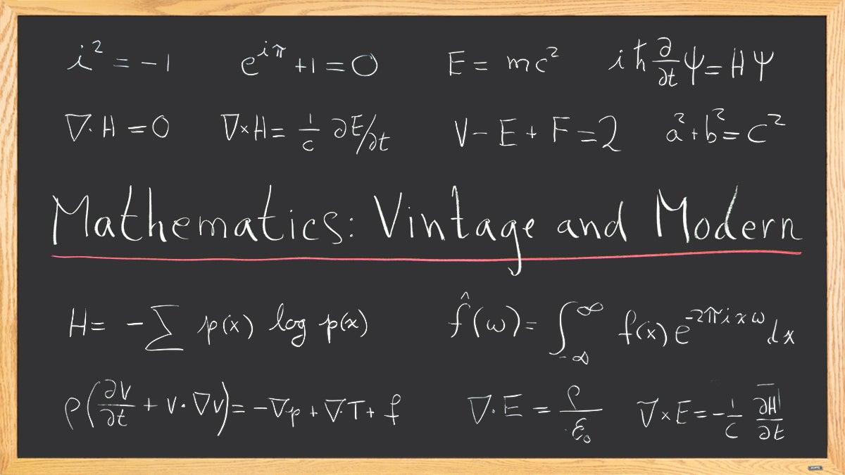 Mathematics: Vintage and Modern