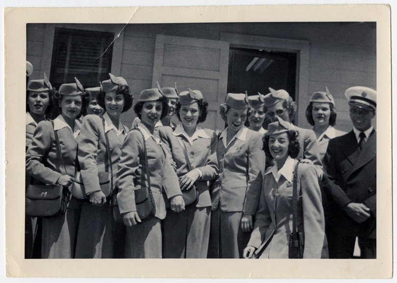 Flight service class, Miami, Florida  April 1, 1949