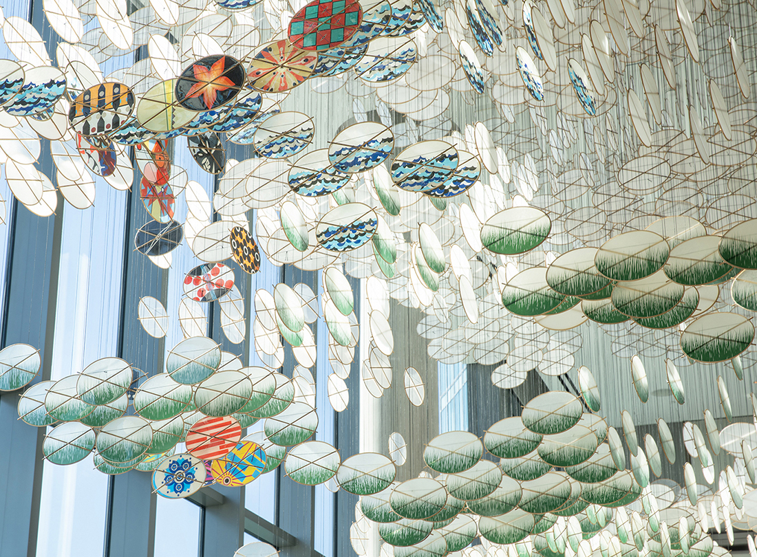 This Infinite Gateway of Time and Circumstance by Jacob Hashimoto