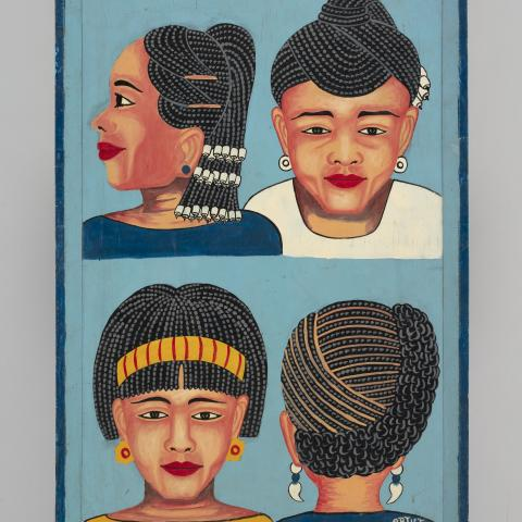 Braided styles hairdressing sign  1994