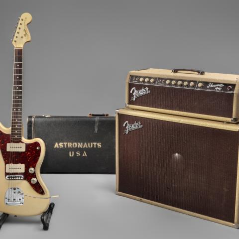 The Astronauts' Fender Jazzmaster and Fender 6G14 Showman Amp