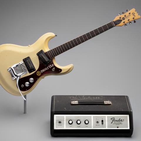 The Ventures' Mosrite Mk.V NAMM Custom and Fender FR–1000 Solid State Reverb