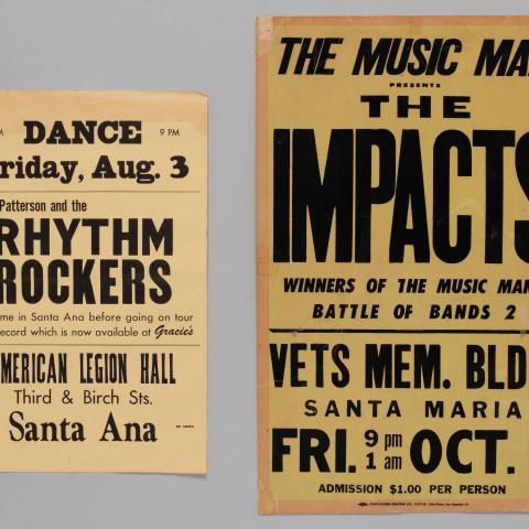 Mike Patterson and The Rhythm Rockers; The Music Man Presents The Impacts
