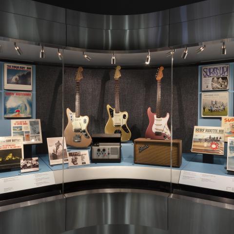 SFO Museum Gallery Image Surf's Up: Instrumental Rock
