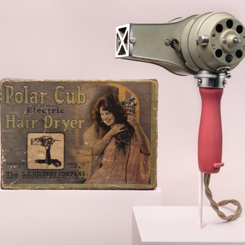 Polar cub electric hair dryer  c. 1923