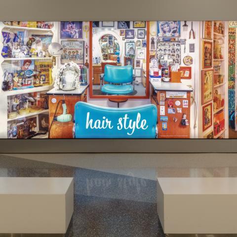 SFO Museum Gallery Image |Hair Style