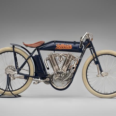 Jefferson twin-cylinder racer  1914
