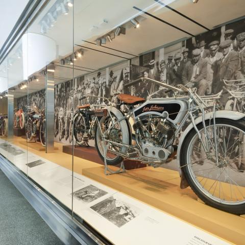 SFO Museum Gallery Image Early American Motorcycles