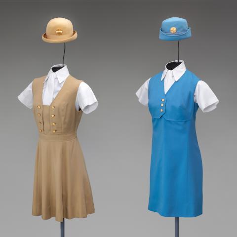 Pan American World Airways (Pan Am) uniforms  1971 and 1969