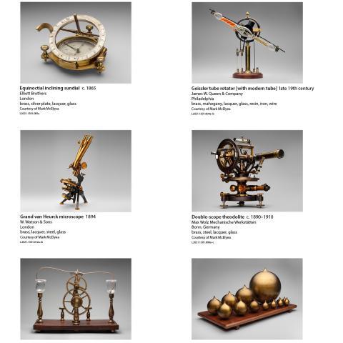 SFO Museum Gallery Image | Antique Scientific Instruments