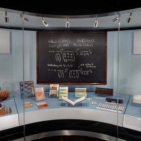 SFO Museum Gallery Image   Mathematics: Vintage and Modern