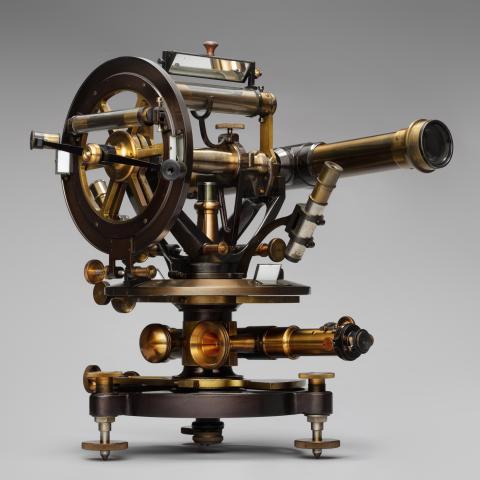 Double-scope theodolite  c. 1890–1910