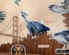 San Francisco Bay Area Bird Encounters, artist Walter Kitundu
