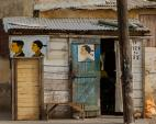 African Barbershop and Hairdressing Signs, Photograph by Andrew Esiebo (b. 1978)