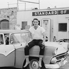 Harvey Milk on the road in Texas  1957-58