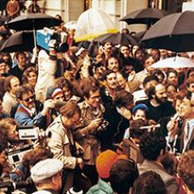 Harvey Milk addresses the public  January 9, 1978