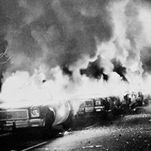 White Night Riots at City Hall May 21, 1979