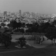 Dolores Park from 20th & Church #9  1998