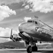 British Commonwealth Pacific Airways (BCPA) Douglas DC-4 R.M.A. Resolution at Nadi Airport, Fiji