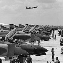 raniff International MAC flight departing Tan Son Nhut, Saigon  c. 1968