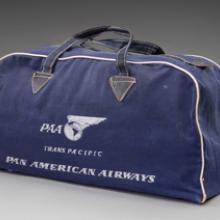 Pan American World Airways bag late 1940s