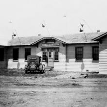 Administration Building at Mills Field Municipal Airport c. 1927