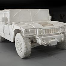 Andrew Junge, Styrofoam Hummer H1 (low milage, always garaged) 2005