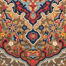 Persian fringe 2021 Bradbury & Bradbury Art Wallpapers