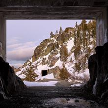 Chinese Wall and Tunnel #8, Truckee, California  2018