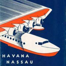 Pan American Airways timetable 1936